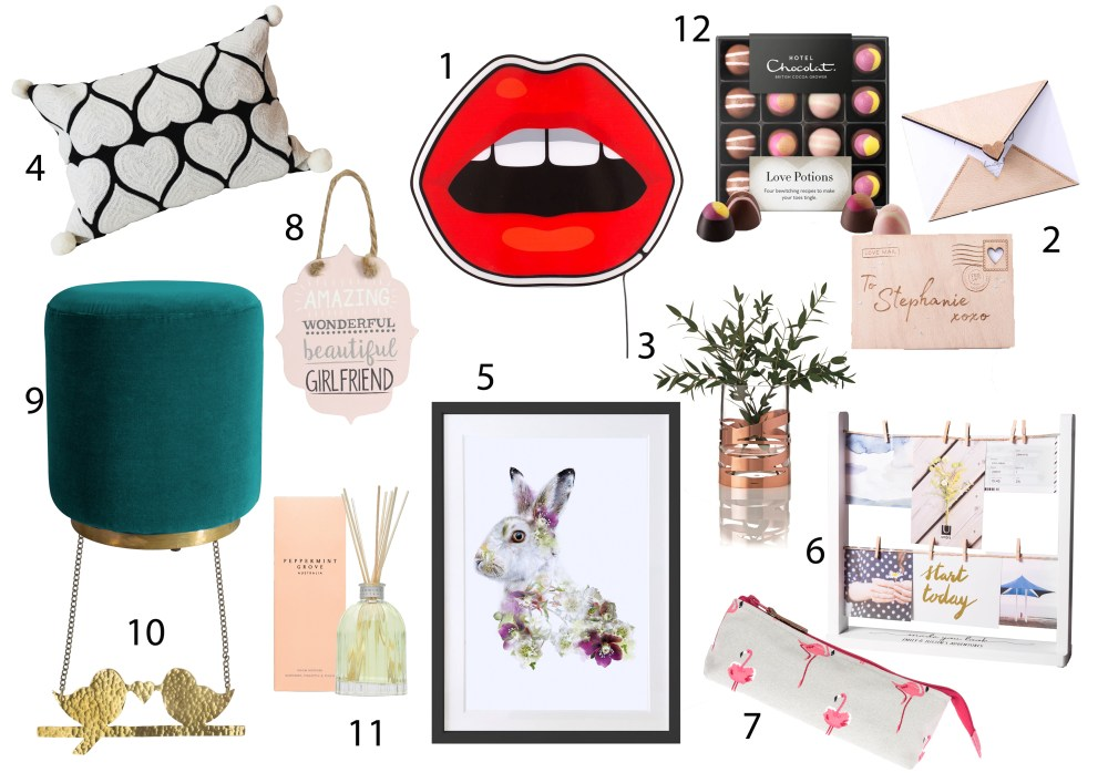 As February is only a day away, I thought it would be a good idea to put together a Valentines day 2018 gift guide. Whether you're a 'say it with flowers' sort of person or you prefer to give a more unique gift, you can use my guide to the best gifts. Plus a few 'for-the-home' ideas for those looking to give their home a new update.  Whether you are looking for your boyfriend, girlfriend, husband or wife, I've got you covered!