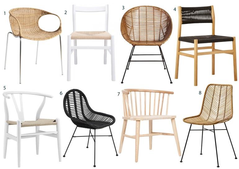 Bohemian chairs