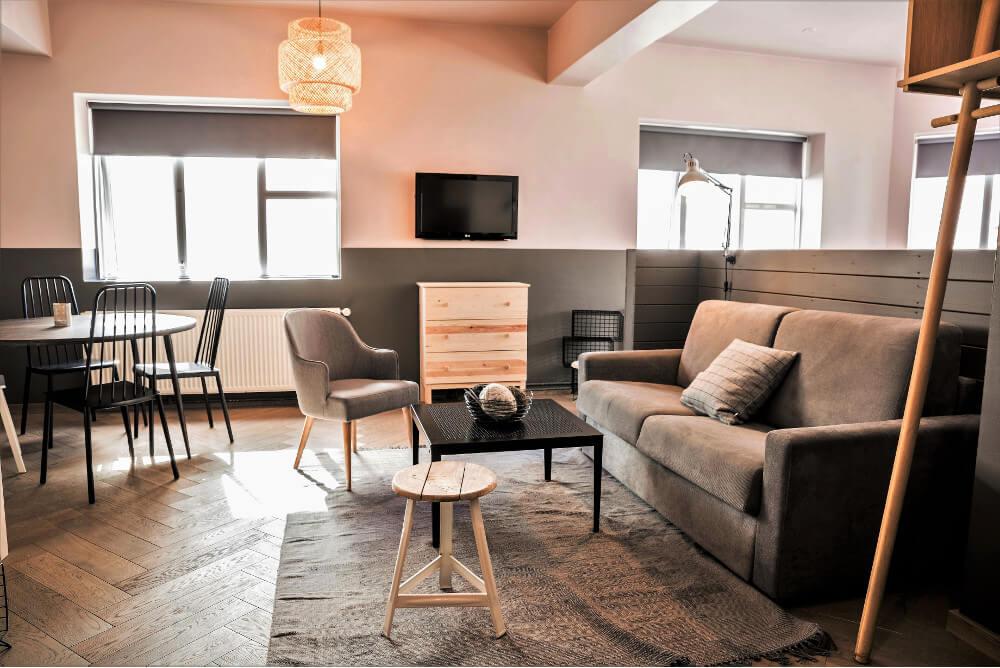 The Swan House Reykjavik Superior Studio Apartment