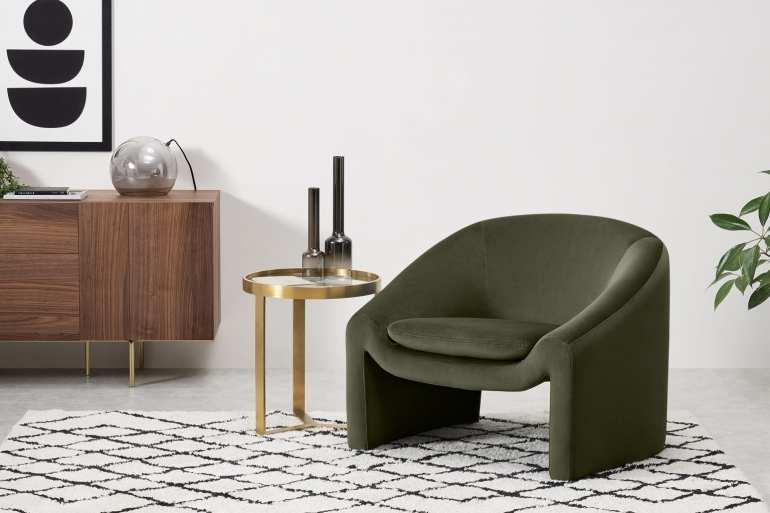 Made.com shona armchair