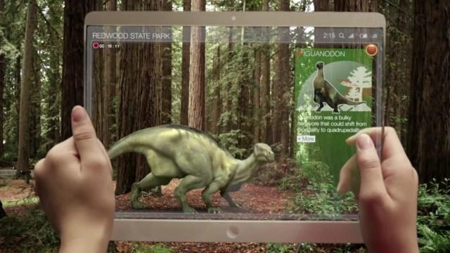 Augmented realityIguanodon