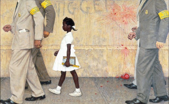 The Problem We All Live With - Norman Rockwell - 1964