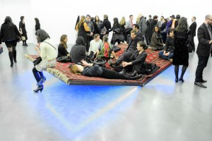 "Opening for ""The Ungovernables"" 2012 New Museum Triennial sponsored by Joe Fresh with media partner Interview magazine"