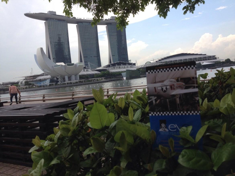 Pausa en Singapur