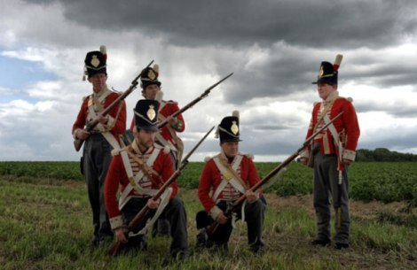 the-honourable-company-of-foote-at-site-of-waterloo1