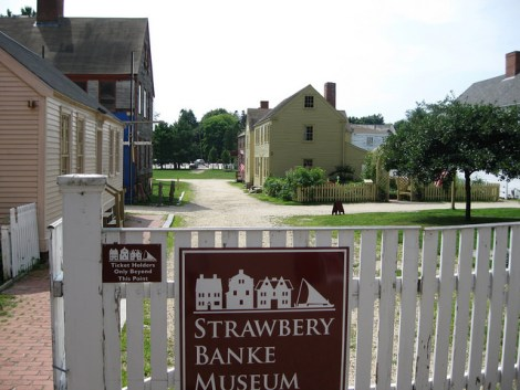 strawbery-banke-museum-entrance-in-portsmouth