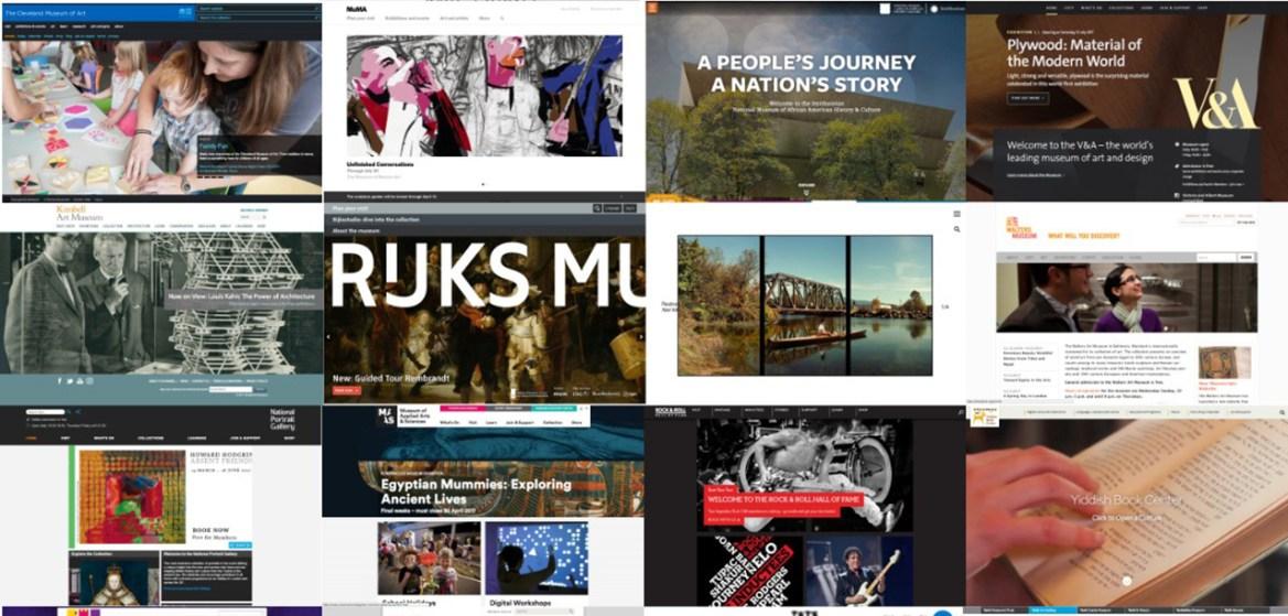Tecnologías Interactivas en las Webs de los Museos de Arte