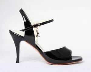 Chaussures de tango femmes marque Turquoise shoes - Modèle M32 Black