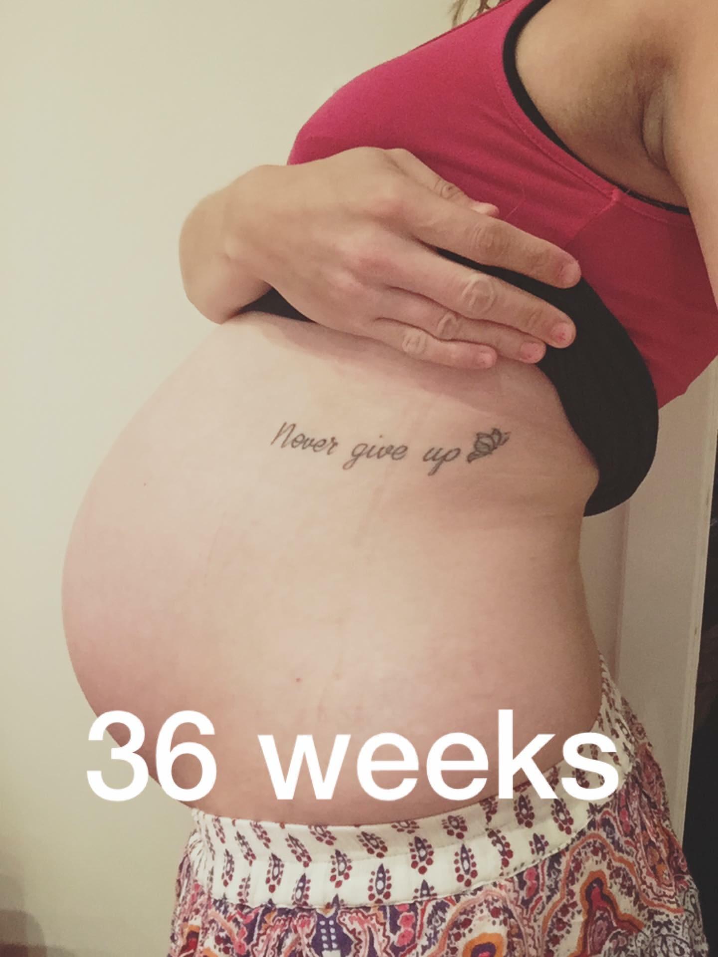 Pregnancy Diary – 36 Weeks – evenangelsfall
