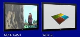 Internet Explorer 11 será compatible con WebGL y MPEG Dash