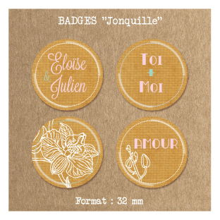 Badge-mariage-Jonquille