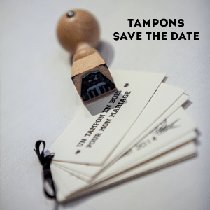 tampon mariage save the date