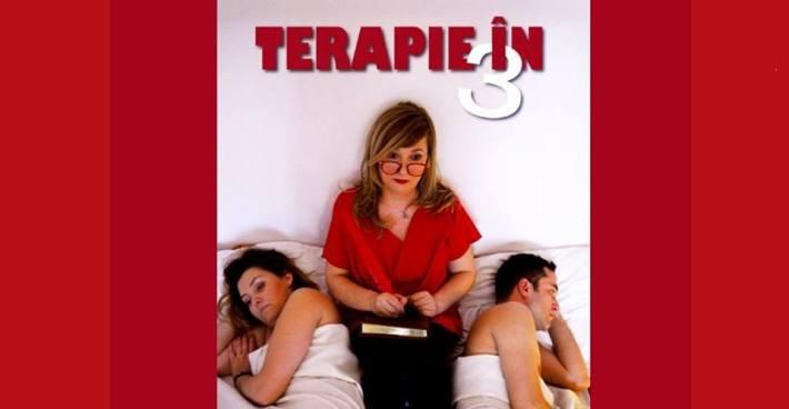 """Super-comedia """"Terapie în trei"""" la Harlequin Mamaia"""