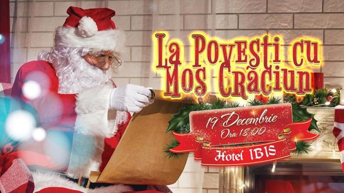 """Trupa SUFLEȚEL prezintă spectacolul """"La povești cu Moș Crăciun"""" la Hotel Ibis"""
