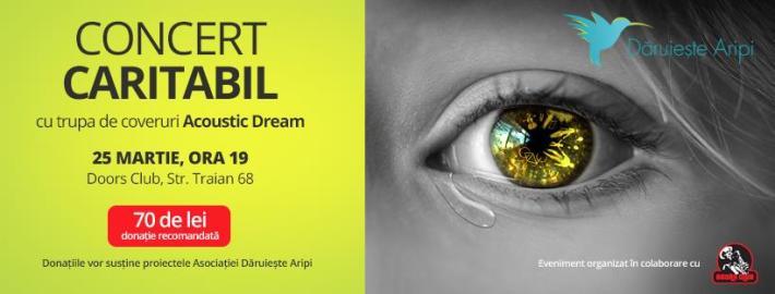 Concert caritabil cu trupa Acoustic Dream în Club Doors
