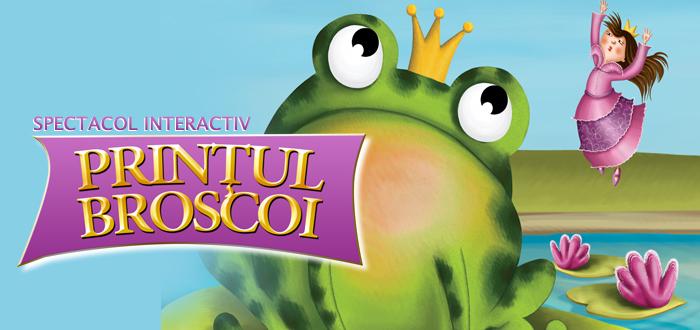 Spectacol interactiv: Prinţul Broscoi la Harlequin Mamaia pe 16 iulie