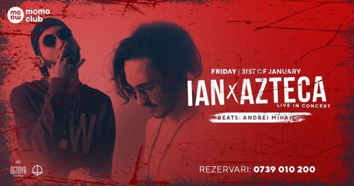 CONCERT: Ian x Azteca Live, la Momo Club Constanța