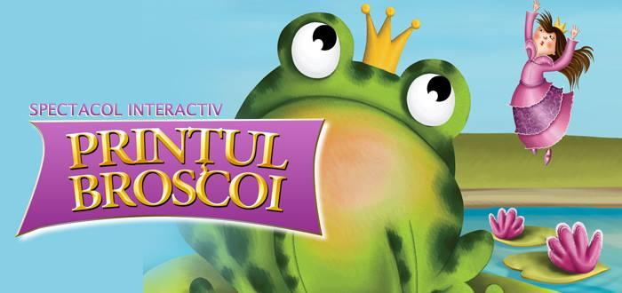 Spectacol: Prinţul Broscoi cu Trupa SUFLETEL