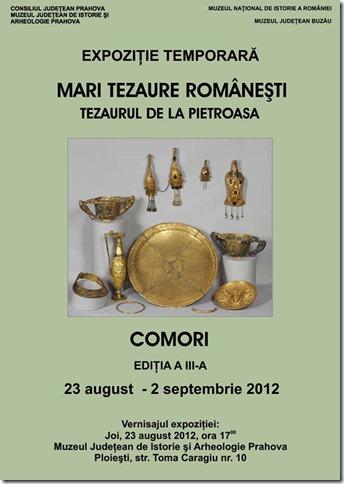 Afis_Expo_MariTezaureRomanesti_Prahova_23.08.2012