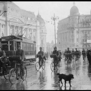 Retragerea nemților din București în 1918: Incendieri, jafuri, morți și răniți