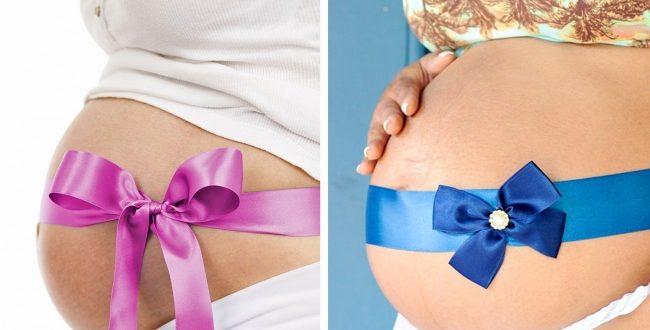 شكل بطن الحامل ببنت او ولد بالصور بنت او ولد من شكل بطن