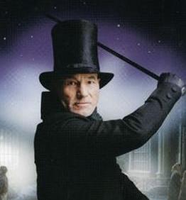 Patrick Stewart Scrooge