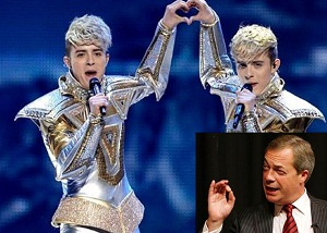 Farage expresses his opinion.