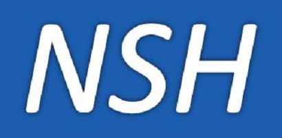The officially approved NHS logo