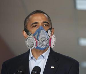 obama breathes