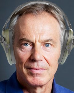 "Blair acts on his personal commandment, ""thou shalt not listen"""