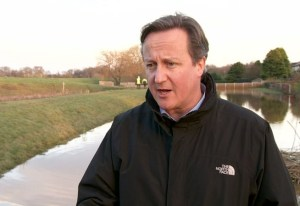 David Cameron puts on a 'North' face