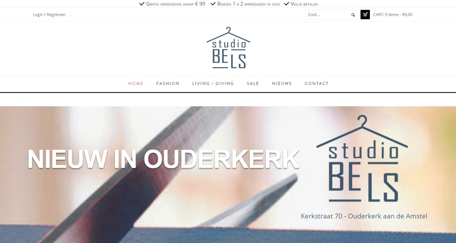 website StudioBELS