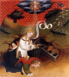 Nativity, by Master Franck (1424)