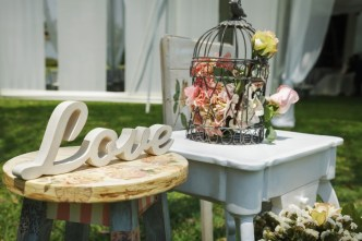 Festival wedding rustic chic vintage wedding