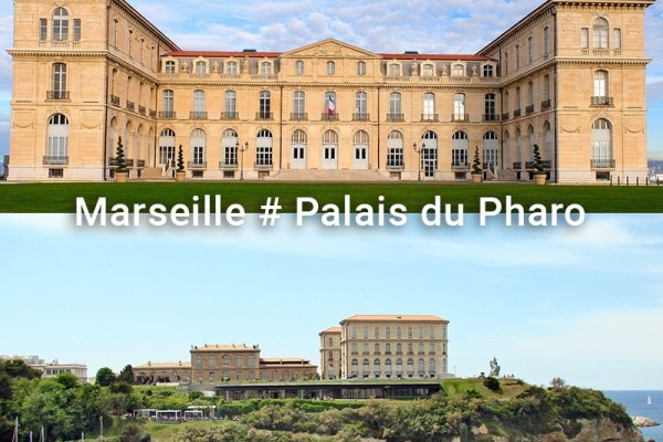 Marseille : Le palais du Pharo