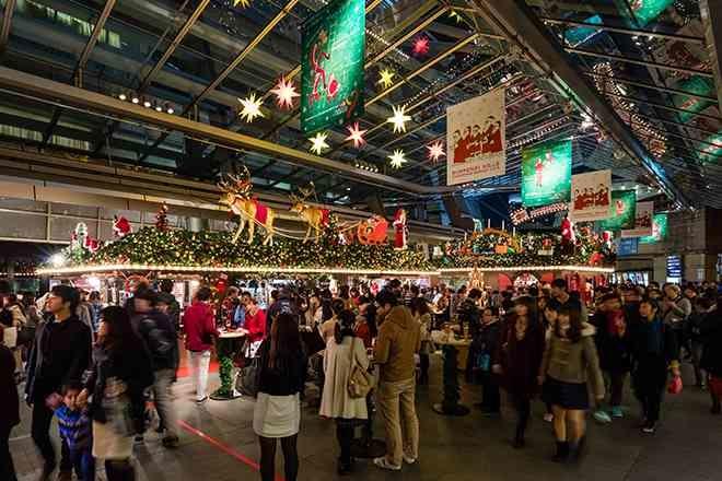 六本木ヒルズのクリスマス2016「クリスマスマーケット」