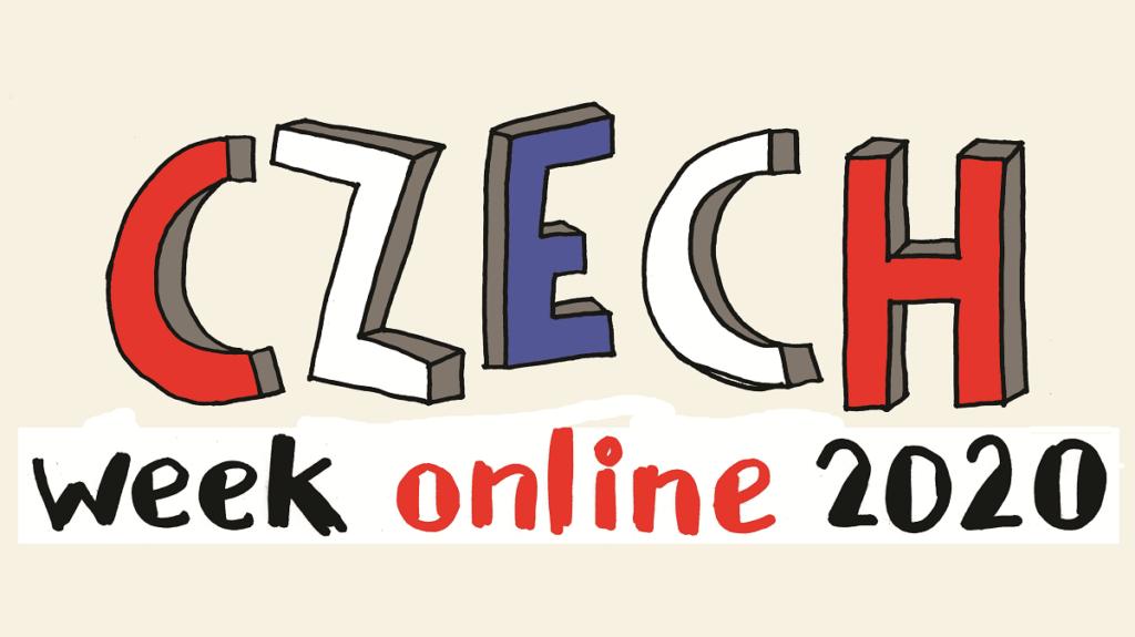 チェコウィークオンライン2020のフライヤー1