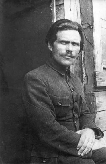 Portrait de Nestor Makhno