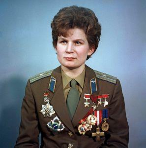 portrait de Valentina Tereshkova