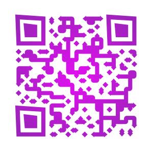 QRCode pour accéder à eventail-musical-en-rose-et-noir.fr