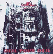 pochette du cd oeilpouroeil du groupe barikad