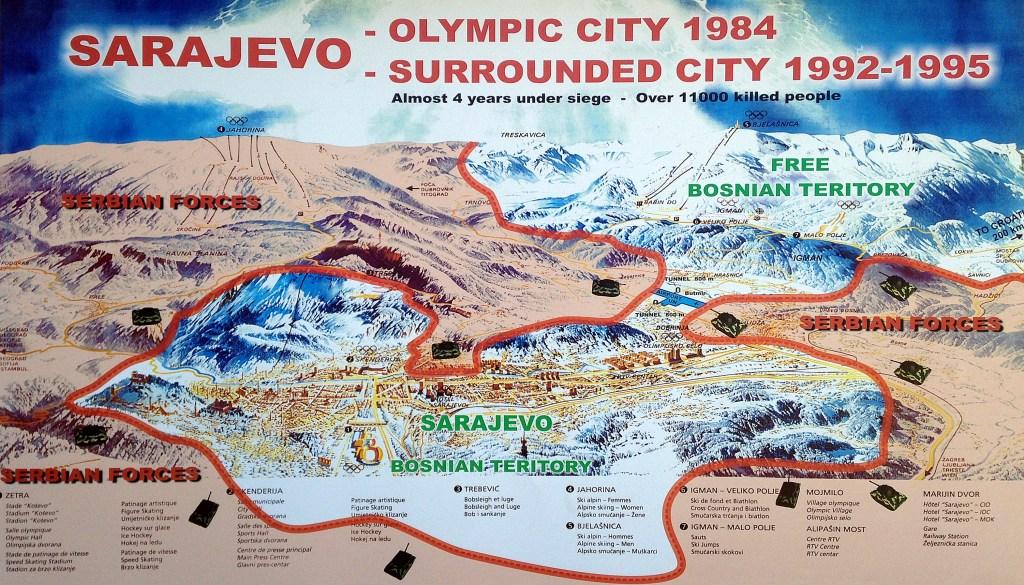 sarajevo ville olympique