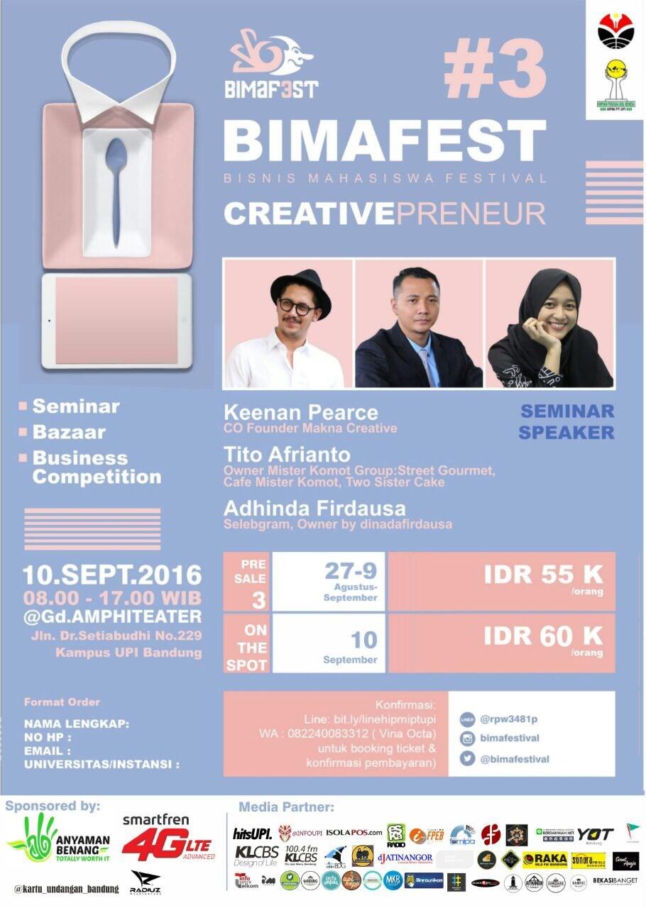 Bimafest #3 | Event Apa Aja