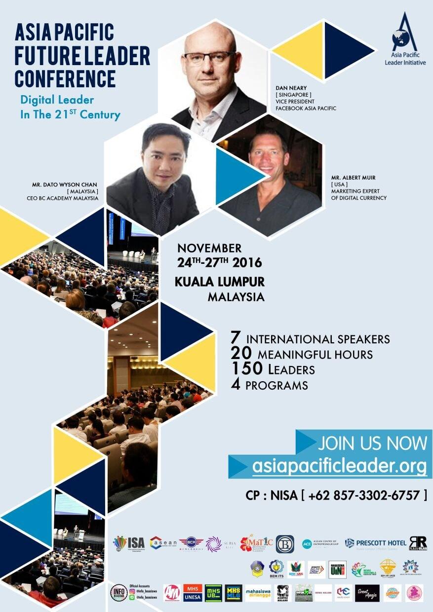 Asia Pacific Future Leader 2016 | Event Apa Aja
