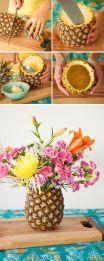 como-combinar-flores-y-pina