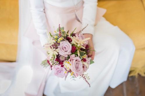 Ramo de novia de Cártamo