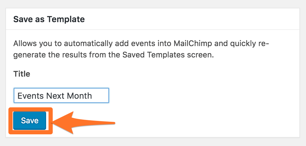 How To Add Your Google Calendar Events Into A Mailchimp Campaign