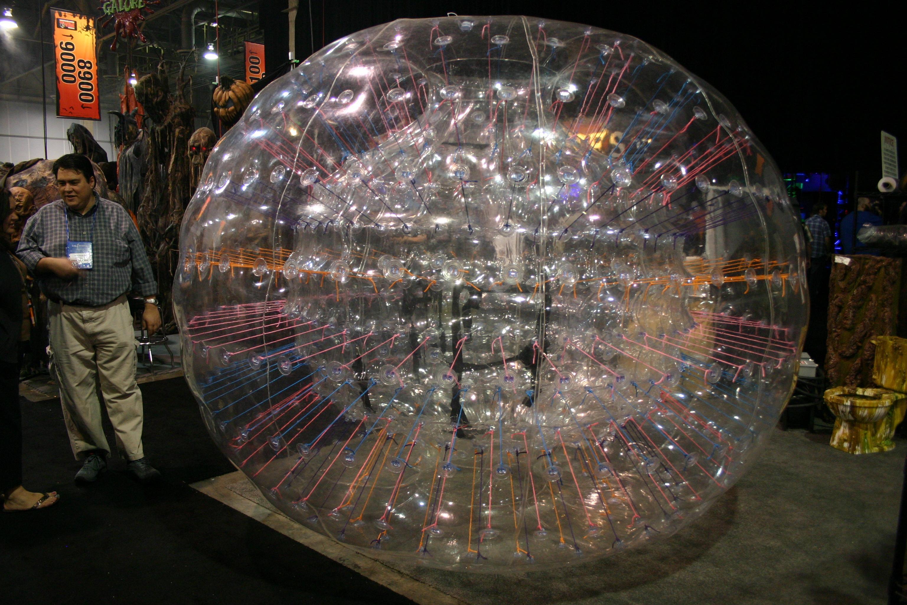 Event City Planet Bubble