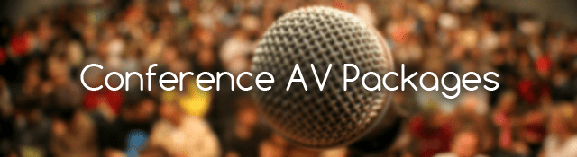 Conference Audio Visual Packages