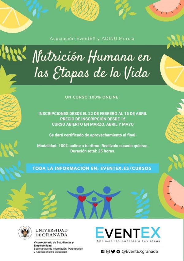 Curso de Nutrición EventEX